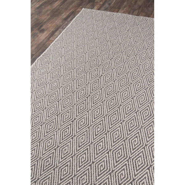 Downeast Wells Charcoal Rectangular: 6 Ft. 7 In. x 9 Ft. 6 In. Rug, image 3