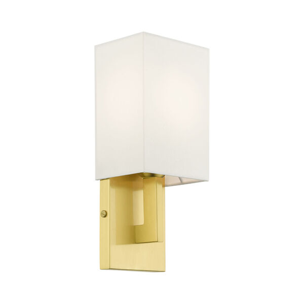 Meridian Satin Brass One-Light ADA Wall Sconce, image 5