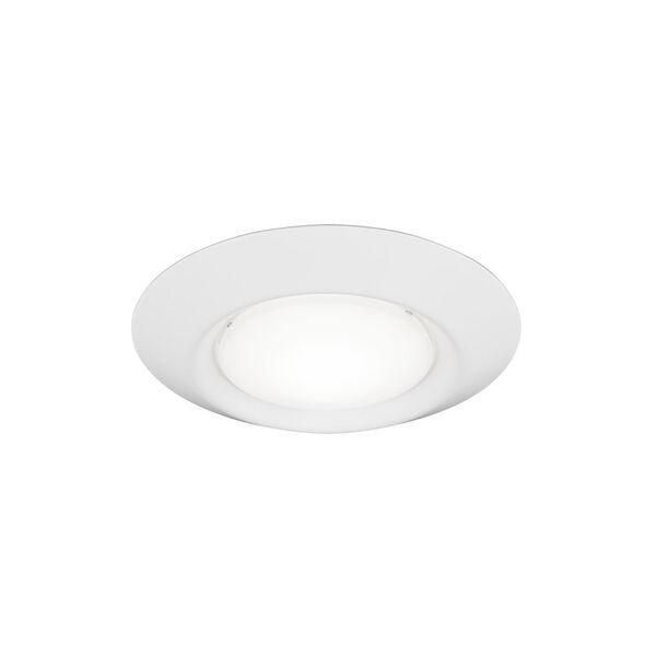 Traverse White Four-Inch T24 2700K 90 CRI LED Recessed Light, image 1