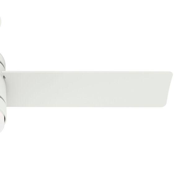 Dublin Matte White 44-Inch Two-Light LED Ceiling Fan, image 4