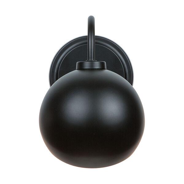 Hadley Matte Black One-Light Sconce, image 1