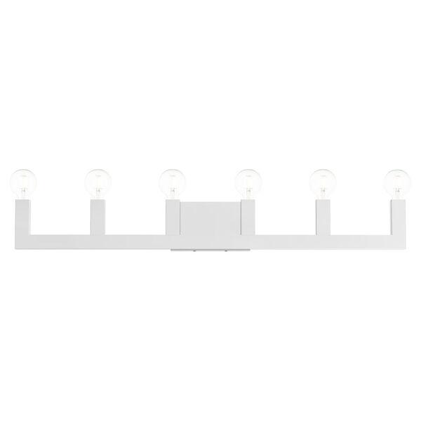 Solna Polished Chrome Six-Light  Bath Vanity, image 1