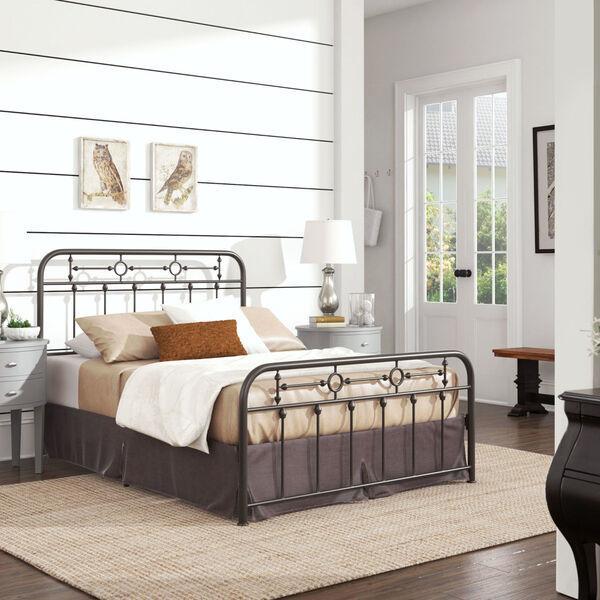 Elliot Bronze Full Metal Spindle Bed, image 6