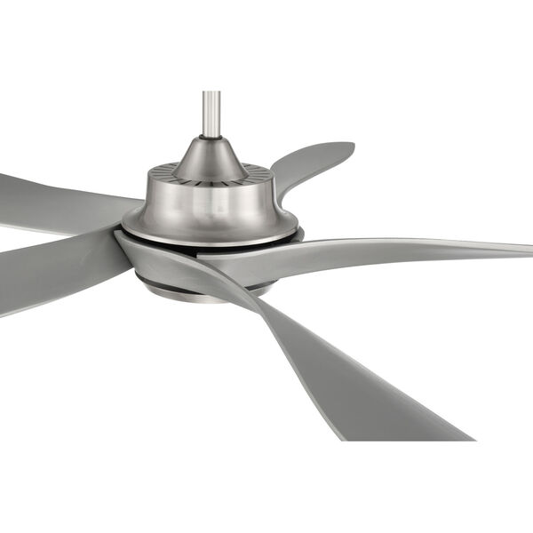 Captivate Brushed Polished Nickel 52-Inch Ceiling Fan, image 5