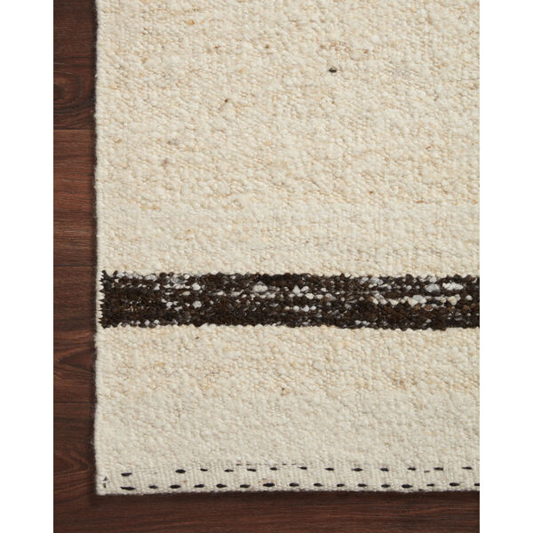 Roman Natural and Black Area Rug, image 4