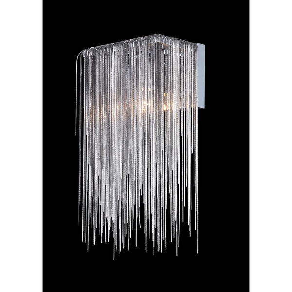 Fountain Blvd. Chrome One-Light Wall Sconce, image 2