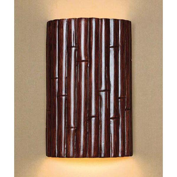 Bamboo Cinnamon Wall Sconce, image 1