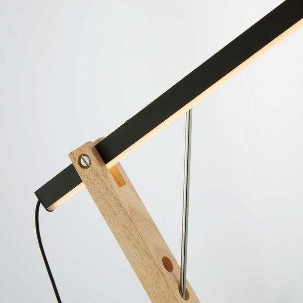 Kylar Black LED Floor Lamp, image 2