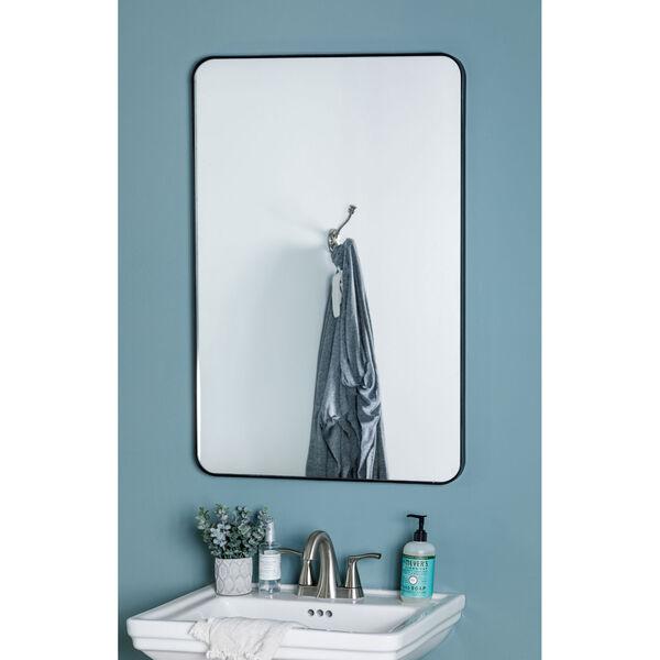 Franco Black Rectangular Mirror, image 2