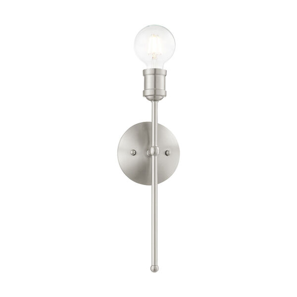 Lansdale Brushed Nickel One-Light  Wall Sconce, image 3