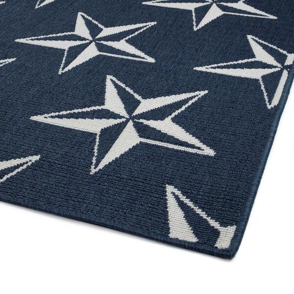 Puerto Navy Star Indoor/Outdoor Rug, image 5