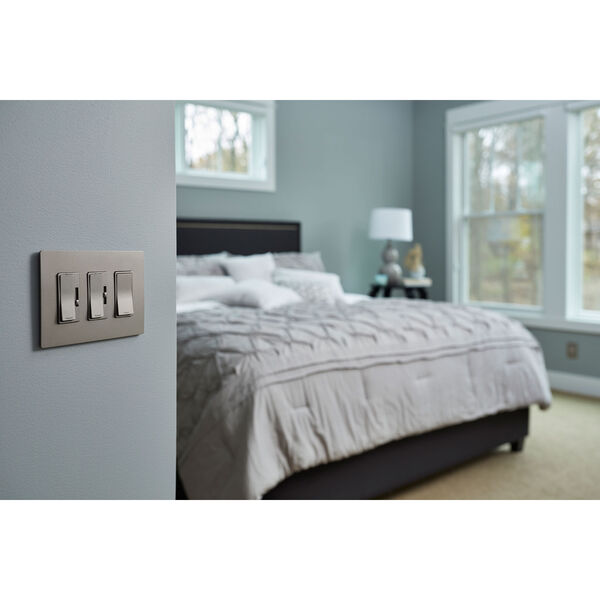 Nickel In-Wall 1500W RF Switch, image 2