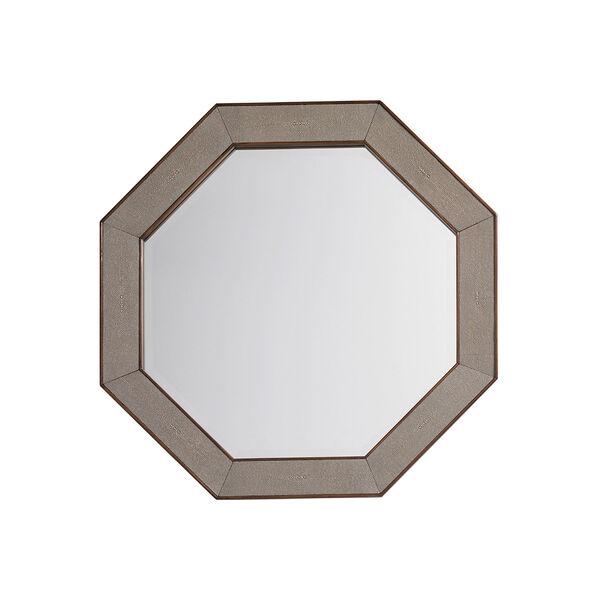 Macarthur Park Brown Riva Octagonal Mirror, image 1