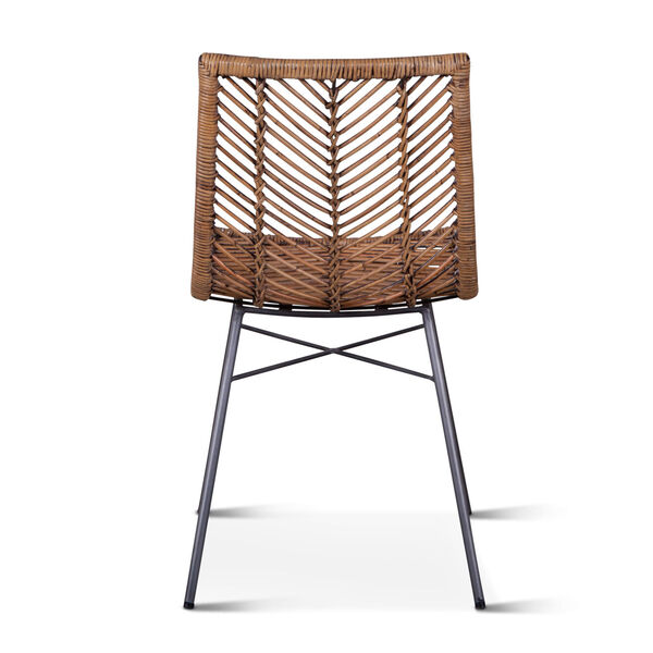 Bali Brown Honey Washed Dining Chair, Set of 2, image 5