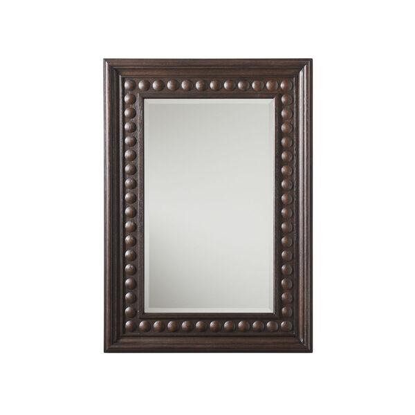 Malibu Rich Expresso 52 x 37 Inch Las Flores Mirror, image 1