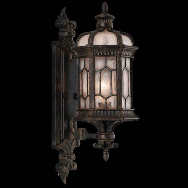 Devonshire One-Light Outdoor Wall Mount in Antiqued Bronze Finish, image 1