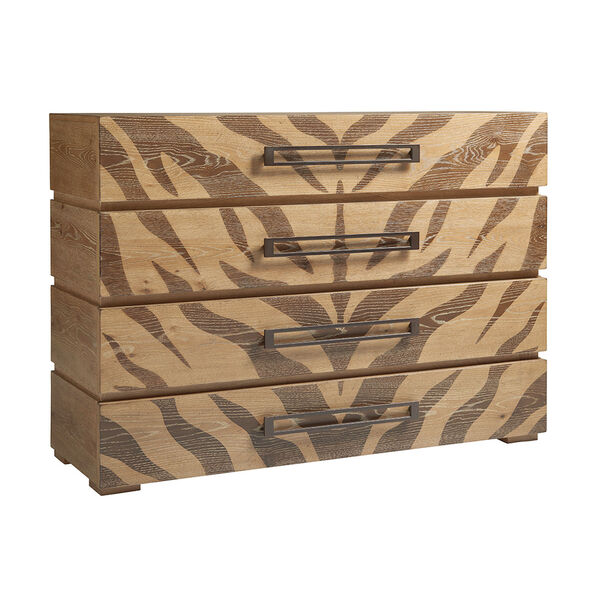 Los Altos Brown Tangiers Hall Chest, image 1