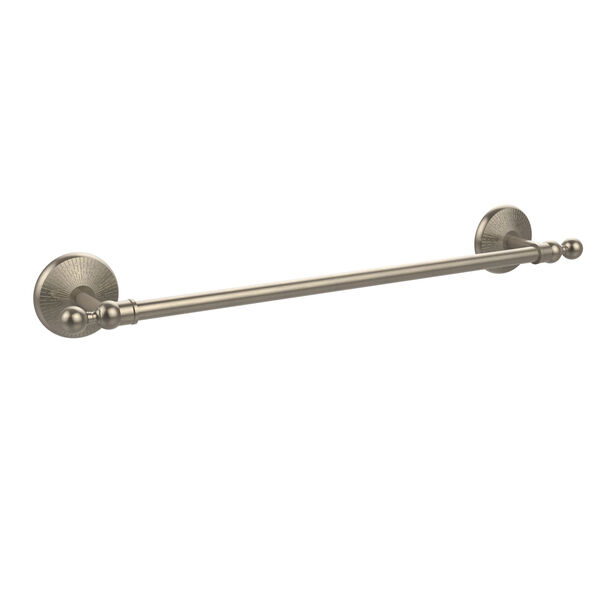 Monte Carlo Collection 18 Inch Towel Bar, Antique Pewter, image 1