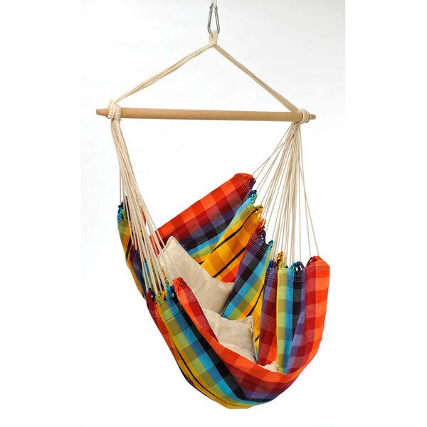 Amazonas Rainbow Brazil Hammock Swing Chair, image 1