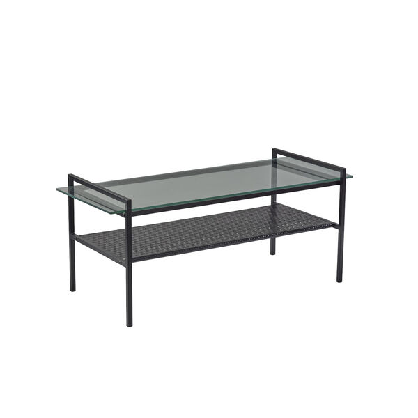 Pearson Black Two-Tiered Coffee Table, image 1