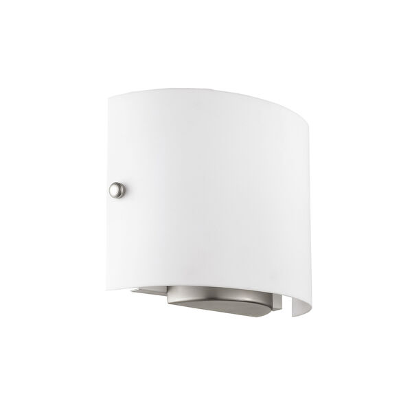 Brushed Nickel Two Light 8.75-Inch Wall Sconce, image 2
