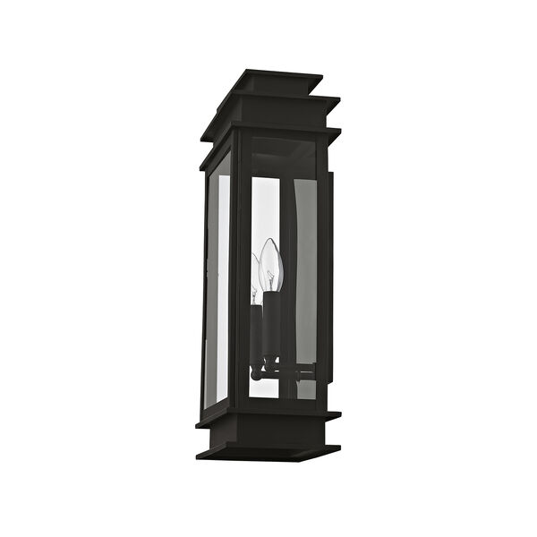 Princeton Black Two-Light 19-Inch Wall Lantern, image 5