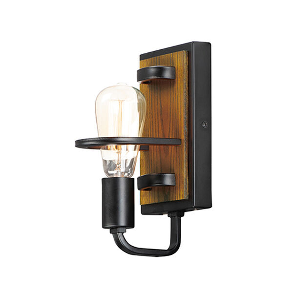 Black Forest Black and Ashbury One-Light Wall Sconce, image 1