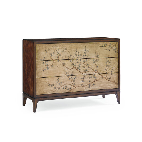 Classic Brown Awesome Blossom Chest, image 1