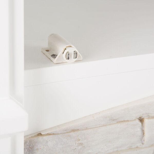 Seneca Crisp White Smart Media Electric Fireplace, image 5