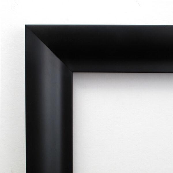 Steinway Black Scoop 33 x 43 In. Wall Mirror, image 3
