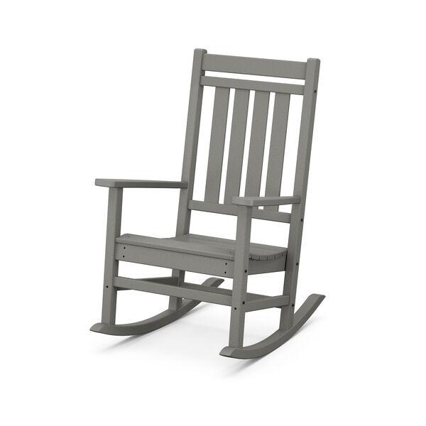Estate Slate Grey Rocking Chair, image 1