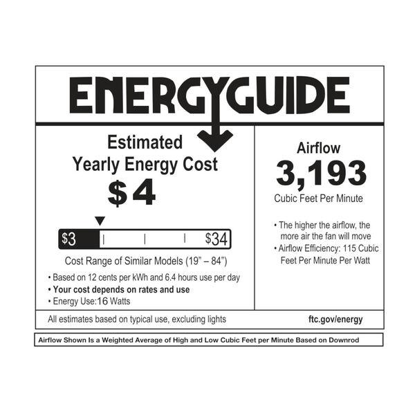 Chisel Matte White 44-Inch Smart Indoor Outdoor Fan, image 2