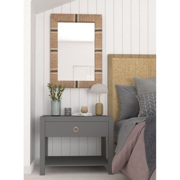 Louise Brown and Black 41-Inch x 29-Inch Wall Mirror, image 4