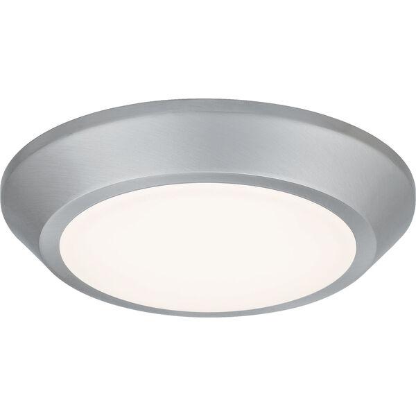 Verge Brushed Nickel LED Flush Mount, image 1