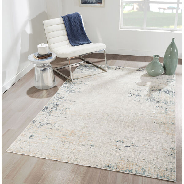 Genevieve Silver Rectangular: 1 Ft. 10 In. x 2 Ft. 10 In. Rug, image 2