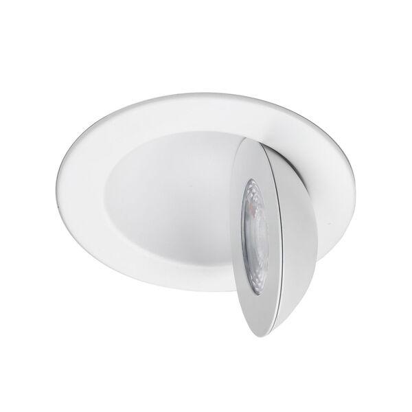 Lotos White Six-Inch LED Round Adjustable Recessed Light Kit, image 6