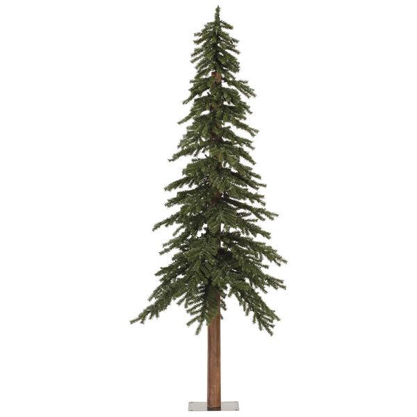 Green 7 Foot Natural Alpine Tree, image 1