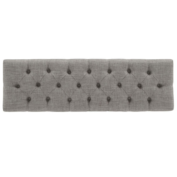Amy Gray Tufted Reclaimed Uphlstered Bench, image 5