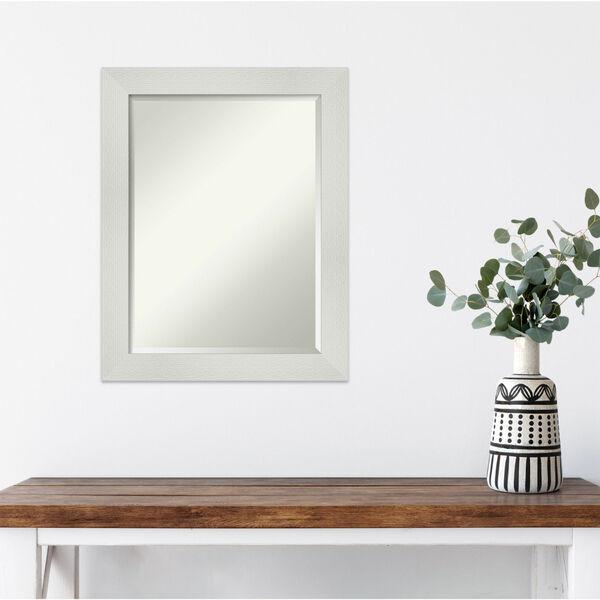 Mosaic White 22W X 28H-Inch Bathroom Vanity Wall Mirror, image 5