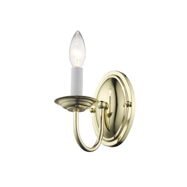 Home Basics Polished Brass Mini Pendant, image 3