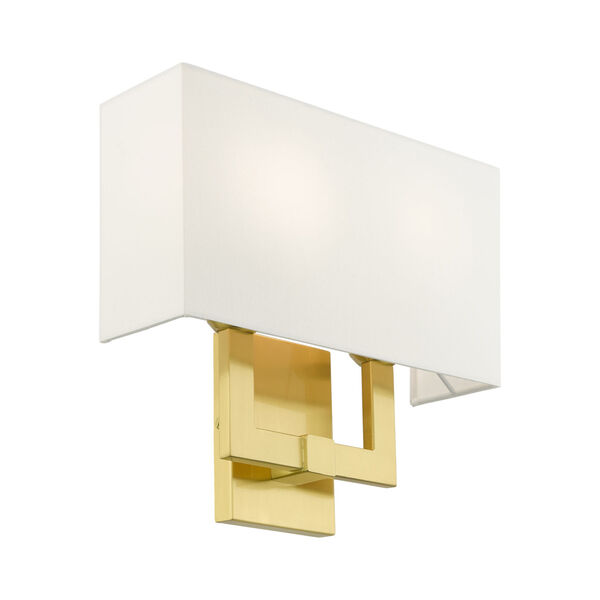 Meridian Satin Brass Two-Light ADA Wall Sconce, image 6