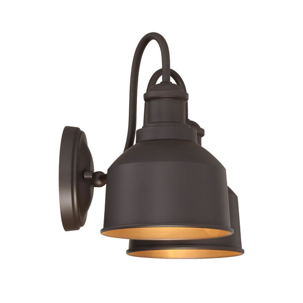 Lex Oil Rubbed Bronze Two-Light Outdoor Wall Sconce, image 4