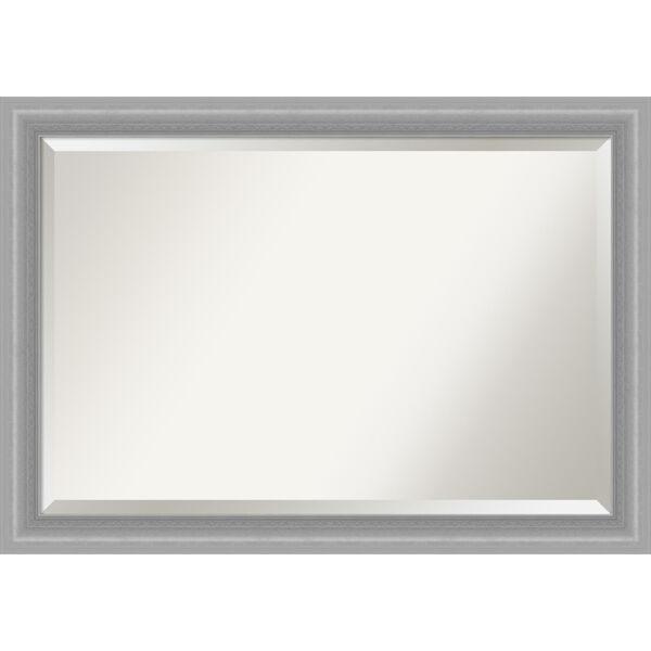 Peak Brushed Nickel 41W X 29H-Inch Bathroom Vanity Wall Mirror, image 1