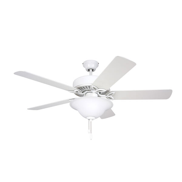 Pro Series White 50-Inch Ceiling Fan, image 1