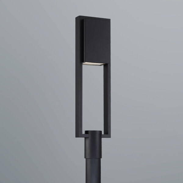 Archetype Black Four-Inch LED Post Light, image 4