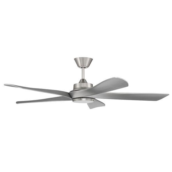 Captivate Brushed Polished Nickel 52-Inch Ceiling Fan, image 1