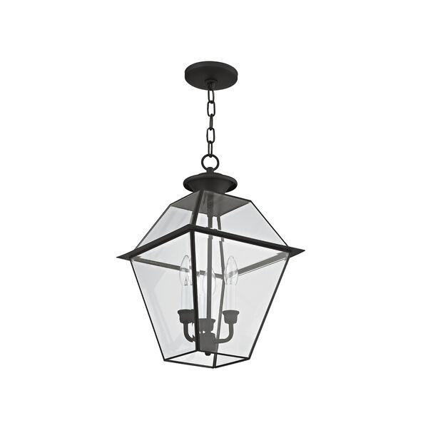 Westover Black Three-Light Outdoor Chain Hang, image 5