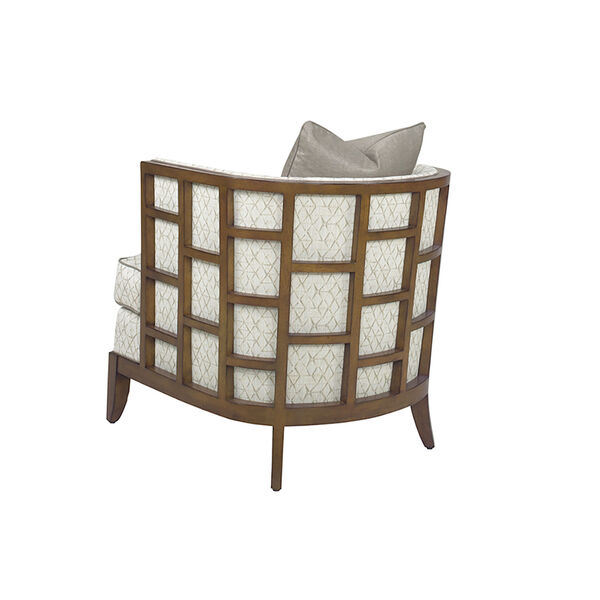 Ocean Club Brown and White Abaco Chair, image 2