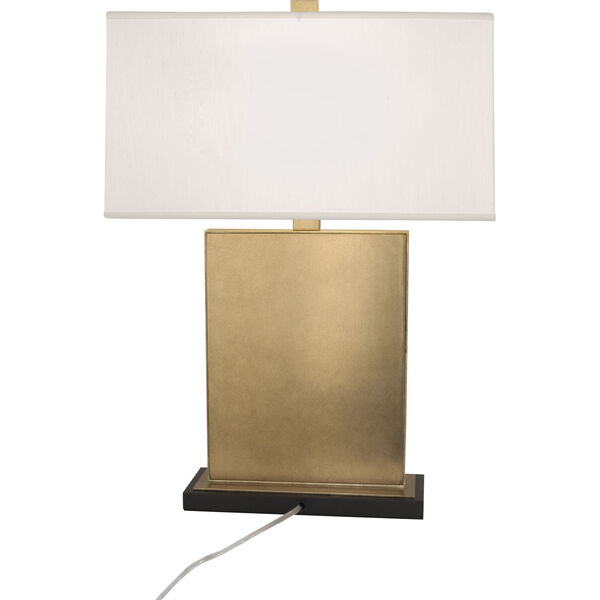 Goliath Antiqued Modern Brass One-Light Table Lamp, image 3