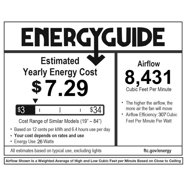 Aviator Graphite and Weathered Gray 70-Inch ADA LED Ceiling Fan, image 2
